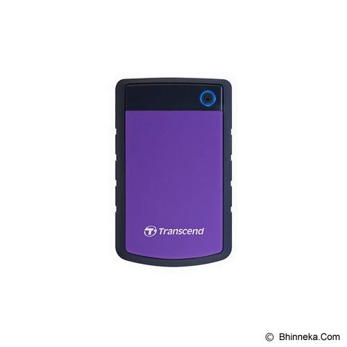 TRANSCEND StoreJet 25H3 USB 3.0 1TB [TS1TSJ25H3P] (Merchant) - Hard Disk External 2.5 Inch